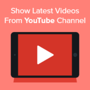 How to Show Latest Videos From YouTube Channel in WordPress