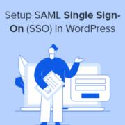 How to Properly Setup SAML Single Sign-On (SSO) in WordPress