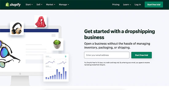 Dropshipping in Shopify