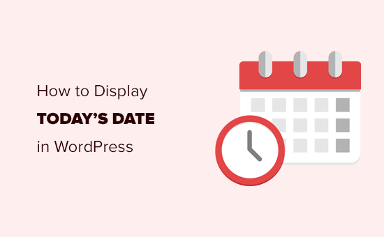 Displaying current date and time in WordPress