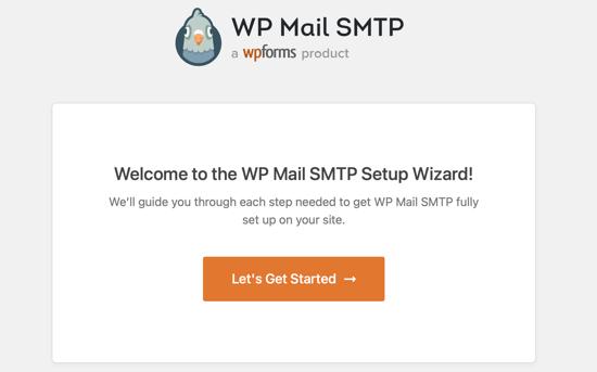 The WP Mail SMTP Setup Wizard Will Start Automatically