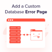 How to Add a Custom Database Error Page in WordPress