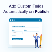 How to Add Custom Fields Automatically on Post Publish in WordPress