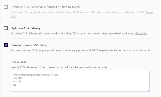 Add files to CSS safelist