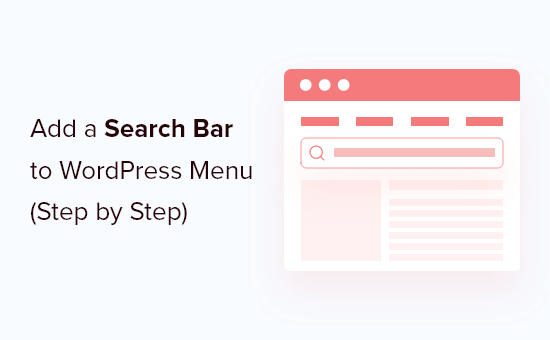 Adding a Search Bar to WordPress Menu