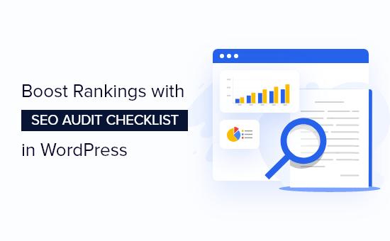 WordPress SEO audit checklist to boost rankings