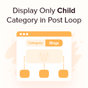 How to Display Only Child Category in Your WordPress Post Loop