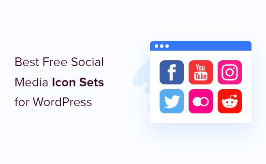 Social Media Icon Sets in WordPress