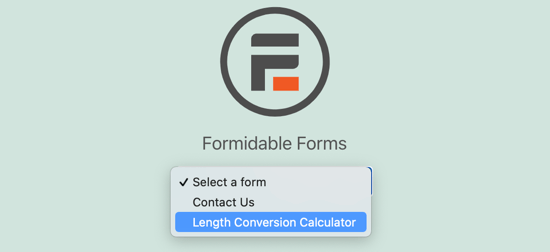 Select the Calculator You Just Created
